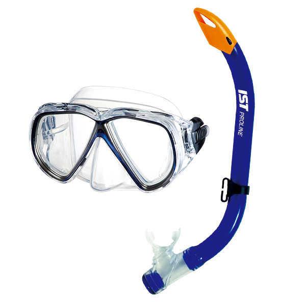 MASK AND SNORKEL COMBO SET