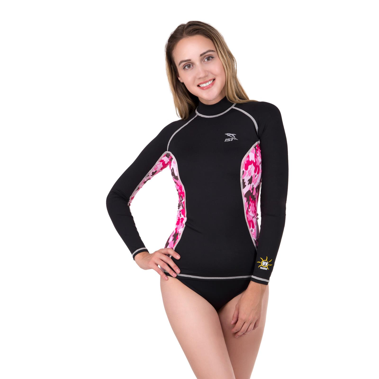 Women's Long Sleeve Rash Guard