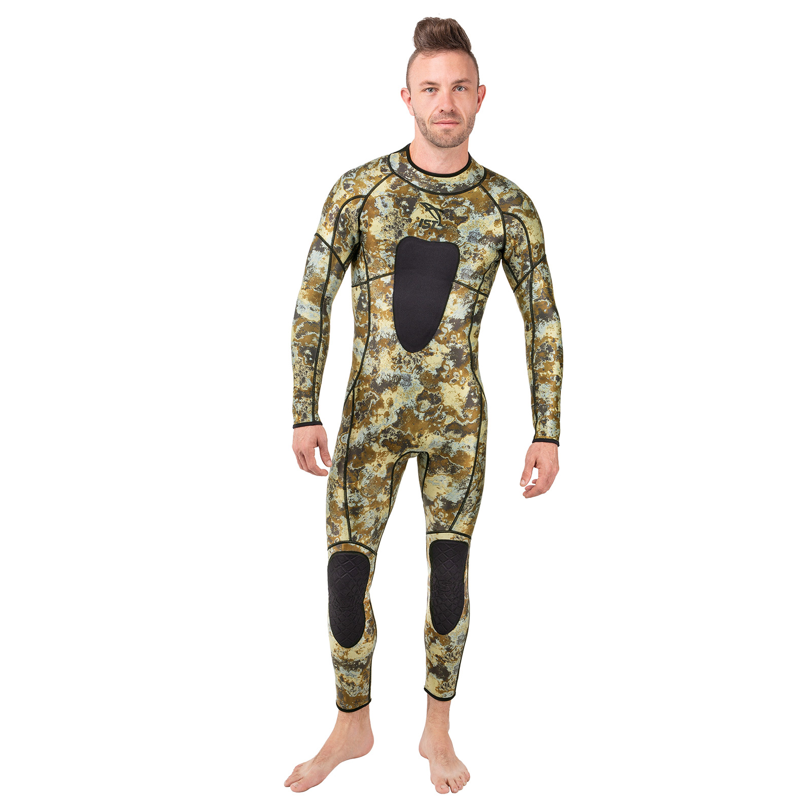 3mm Camo Jumpsuit for hunting in warm water