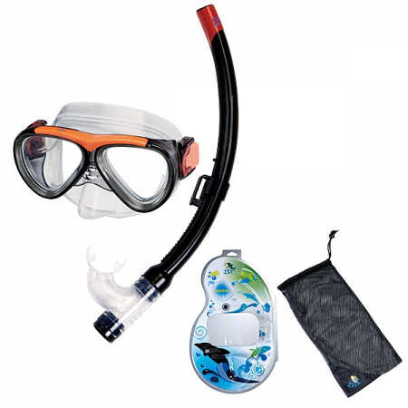KID'S MASK & SNORKEL COMBO SET
