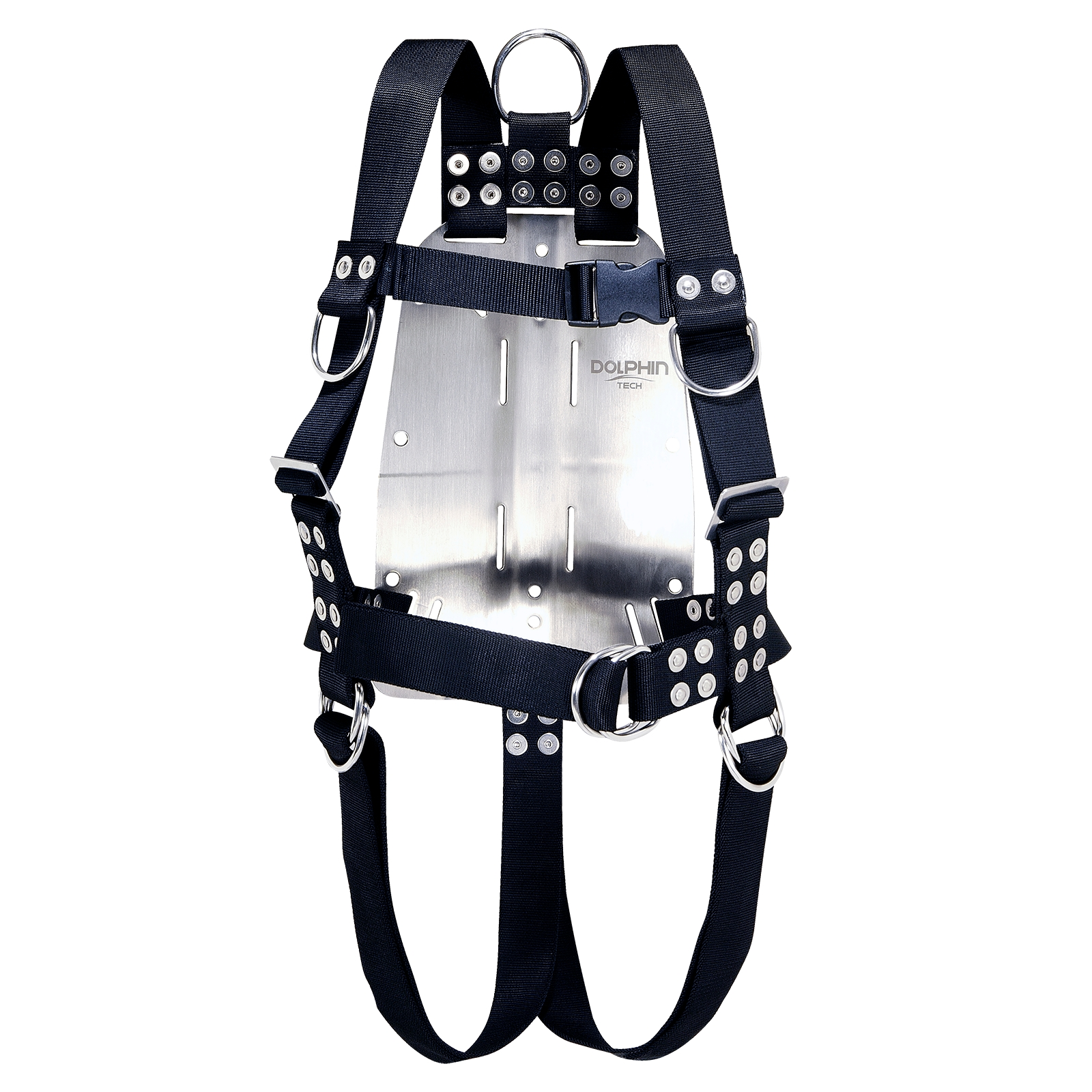 Commercial diving bell harness