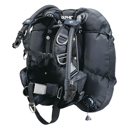 65lb Double Bladder Twin-tank BCD