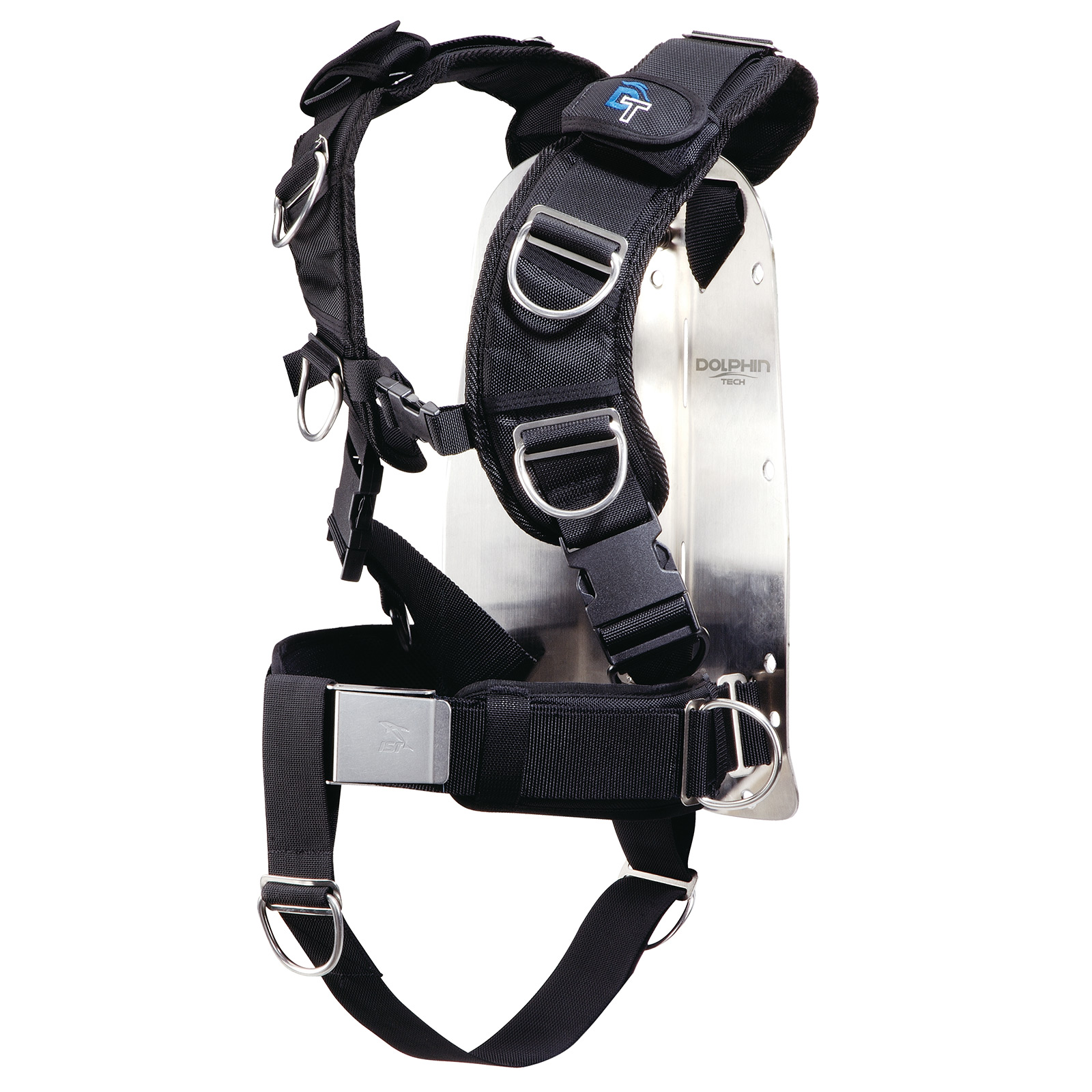 Deluxe Harness Stainless Steel Backpack