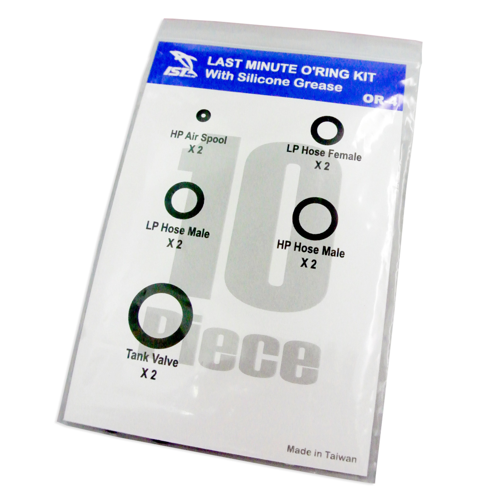10pcs Diver's O-ring Kit
