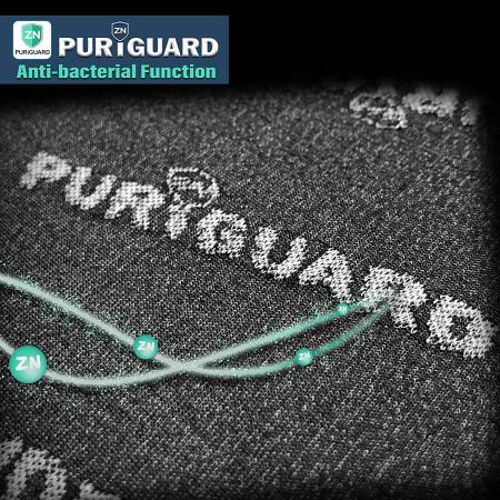 抗菌生地機能説明 - PURiGUARD